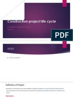 Construction Project Life Cycle