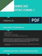 Der. Const. I - Unidad III