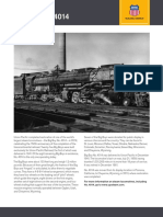Union Pacific Big Boy Number 4014 Fact Sheet