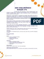 Ácido hialurônico - Literatura