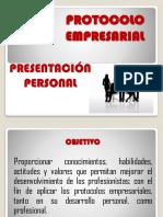 Protocolo y Presentacion Personal