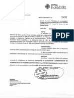 Protocolo DistribuciOn AdministraciOn AlimentaciOn Pacientes Hospitalizados
