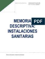 m.d Instalaciones Sanitarias