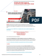 Kárdex notarial dota de fecha cierta al documento privado [Casación 3899-2015, Lima] _ Legis.pe
