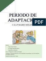 PERIODO DE ADAPTACIÓN FINALIZADO