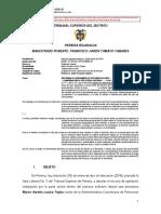 2014-00084 (a) Reforma de La Demanda Es Por Una Vez. Confirma Rechazo de La Demanda. Auto Esta en Firme
