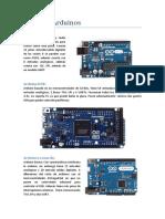 Tipos de Arduino
