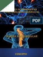 Presentacion Trauma Raquimedular y Craneoencefalico.