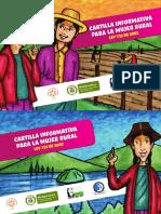 Cartilla Ley Mujer Rural