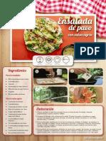 Recetas Pinic Ensalada Pavo