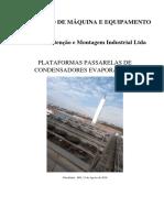 Plataformas Passarelas R01