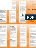 Triptico de Diabetes Mellitus
