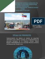 Proyecto Socio Tecnológico I3232 Presentación