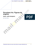 Porcelana Fria Figuras Angeles 27518