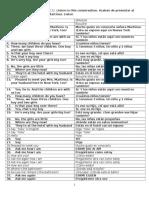 Lección Número 22 de Pimsleur English for Spanish Speakers Nivel 1