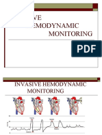 Invasive Hemodynamic Monitoring