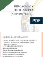 Lubricación y Lubricantes (Automotriz)