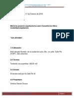 01 Consultorios Memoria 2019