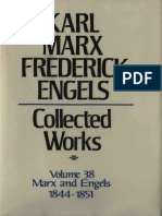 Karl Marx and Friedrich Engels - Marx-Engels Collected Works,Volume 38 - Marx and Engels_ Letters_ 1844-1851 (1982).pdf