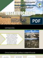 La Desertificacion Ppt