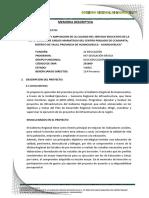 Calculos Hidrologicos - Carretera