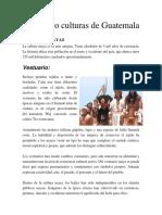 Las cuatro culturas de Guatemala.docx