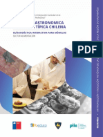 Antropología y Evolución Histórica de La Cocina Chilena