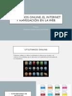 Utilitarios Online, El Internet y Navegación En