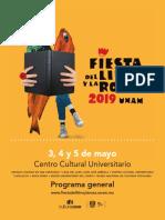 Programa Fiesta Del Libro y La Rosa 2019