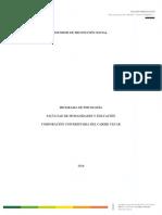 Informe Proyección Social periodo II 2018 (1) (2) (1).docx