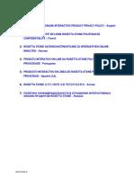 Modelo de relación de aptos contrAloria