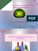 Clase 2- Organizacion- 2018