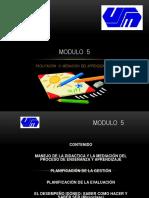 Componente Docente Módulo -5