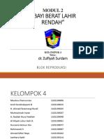Laporan Pbl Klp 4 Bblr-repro
