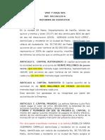 Reforma Capital Autorizado y Objeto (2)