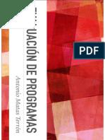 Diseño Evaluación de Programas