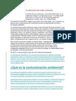 la contaminación y la alteración del medio ambiente.docx