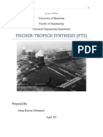 Fischer-Tropsch Sysnthesis