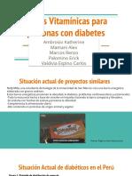 Barras Vitamínicas Para Personas Con Diabetes