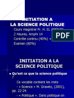 Initiation a La Science Politique 2 1 4