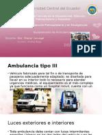 Ambulancias Tipo 3