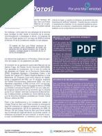 San Luis Potosí - Por una Maternidad Libre y Voluntaria - Monografía