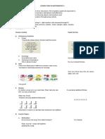 Sample Lesson Plan in Mathematics