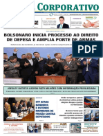 Jornal Corporativo número 3101 de 09 de maio