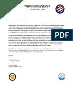 letter of recommendation whitney prenger