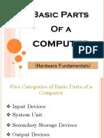 Basic Parts of a Computer - Hardware Fundamentals