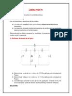 141718430 Informe Laboratorio Electronica Rectificador de Media Honda y Onda Completa