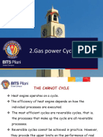 Air Standard Power Cycle