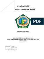 B.a. (Mass Communication) Final_24012019