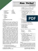 PRE SM 08-B Término Excluído, Comprensión de lectura